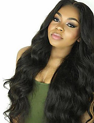 New Unprocessed 10-30inch 100% Brazilian Human Hair Body Wave Lace Front Wig & U Part Wig For Women