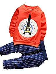 nova primavera e outono crianças roupas, menino terno, terno crianças de algodão, bebés roupas delicadas