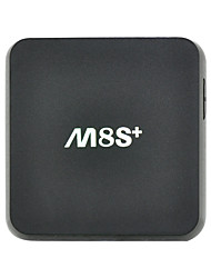 m8s плюс / m8s + Amlogic S812 Quad Core Android TV Box XBMC 14.2 Android 5.1 2g / 8g 2.4G / 5g WiFi h.265 DLNA Miracast