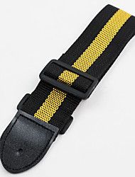 Professional Straps High Class Guitar New Instrument Nylon Musical Instrument Accessories Black / Green / Blue / Yellow
