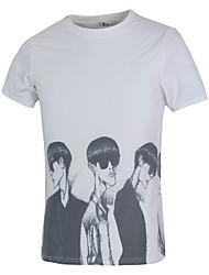 New Brand Design Men T-Shirts 3D Fashion Boys Printed Man Clothing Round Neck Short Sleeve