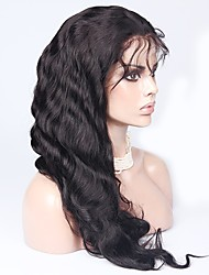 Silk Base Full Lace Wigs Virgin Brazilian Glueless Body Wave Lace Front Wigs 150% Density With Natural Hairline