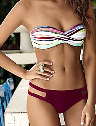 Damen Bikinis - Floral Polyester Stirnband