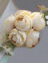 Wedding Flowers Free-form Fashion Handmade Roses Wrist Corsages