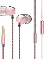 UiiSii HM7 In-Ear Earbuds Earphones with Stereo Sound Noise-isolating Mic Control for Smartphone