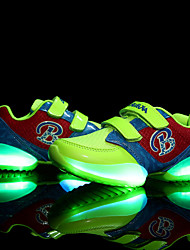 LED Light Up Shoes, Boys' and Girl  Shoes Casual Tulle Fashion Sneakers Black / Green / Red