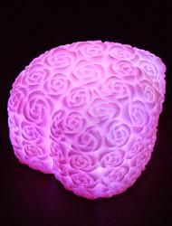 7 Colors Rose LED Night Light Decoration Candle Rose Light Tea Lamp Wedding Decoration