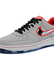 Nike Air Force 1 Round Toe / Sneakers / Running Shoes / Casual Shoes / Skateboarding Shoes Men's Wearproof GrayRunning/Jogging / Leisure