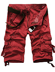 Men New Outdoor Leisure Casual Cotton Men's Shorts Summer Military Camouflage Short Pantsmen Trousers Puls Size