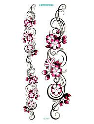 longa coloridas high solução sexuais produtos flor de ameixa círculo designer Flash temporária taty tatoo etiqueta