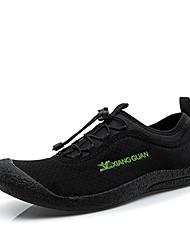 Men's Indoor Court Shoes Synthetic Black / Green / Gray
