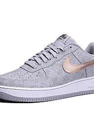 Nike Air Force 1 Round Toe / Sneakers / Running Shoes / Casual Shoes / Skateboarding Shoes Men's Wearproof Low-Top GrayRunning/Jogging /