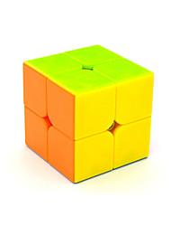 Yongjun® Cube velocidade lisa 2*2*2 Velocidade Cubos Mágicos Arco-Íris ABS