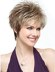 cheveux synthétiques courtes femmes dame perruques perruques de cheveux synthétiques droites
