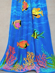 "Well Designed Cartoon Full Cotton Bath Towel 69.3"" by 35.4"""