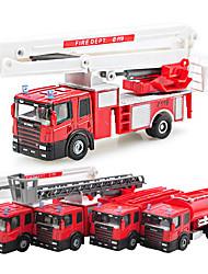Dibang -1552 éducatives voitures modèle de voiture jouet 1:50 alliage enfants camion coulissants (4pcs)