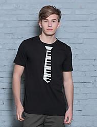 2016 Novelty Design 3d Piano Tie Men T-Shirts Metrosexual New Arrive Fashion Men T-SHIRT HIP HOP Style