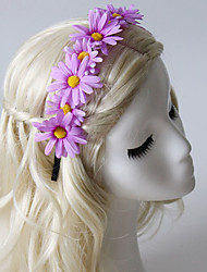 Women's / Flower Girl's Fabric Headpiece-Casual / Outdoor Headbands 1 Piece