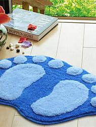 "Cute Style Polyester Fiber Material Non-Slip Soft Mat W16"" x L24"""