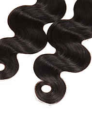 New Arrival 3Bundles 150g Peruvian Virgin Hair Weave Natural Black Body Wave Unprocessed Virgin Human Hair Weaves