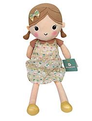подлинной весной девушки куклы плюшевые игрушки куклы кукла ребенка умиротворить девушки куклы подарок бежевый цветочные юбка сидит высота