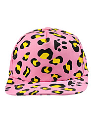 Women Wool Spring Fashion Color Leopard Print Hip-hop Visor Hat