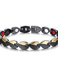 Men's Jewelry Health Care Black Stainless Steel Magnetic Therapy Bracelet Fashion  Jewelry Christmas Gifts