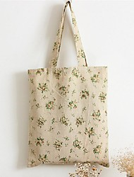 Women Silk Casual / Shopping Shoulder Bag Green