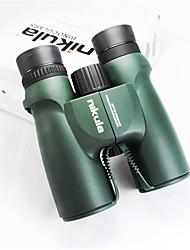 Nikula 10X42 mm Binóculos Alta Definição De Mão Uso Genérico Observação de Pássaros BAK4 Revestimento Múltiplo Normal 105M/1000MFocagem