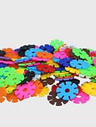 blocos floco de neve, educação infantil brinquedo educativo para crianças, iluminação quebra-4,3 centímetros, 1000 peças