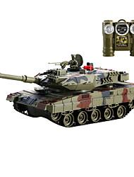 controle remoto modelo de tanque do carro, o metal contra os tanques (l) - o leopardo 2 sgainst tanques alemães (l)