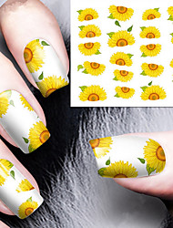 1 Sticker Manucure  Autocollants de transfert de l'eau Maquillage cosmétique Manucure Design