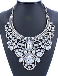 Women Fashion Luxury Alloy Exaggerated Statement Necklace