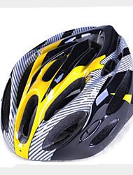 Спортивные-Универсальные-Велосипедный спорт / Велосипеды для активного отдыха-шлем(Желтый / Красный / Серый / Синий,Пенополистирол / ПВХ)