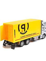 Les véhicules voiture inertie jouet camion à ordures 01:42 alliage modèle de voiture jouet de sauvetage des enfants (3pcs)