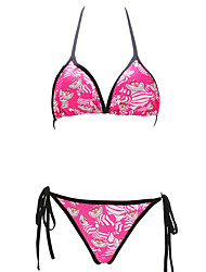 Bikini Aux femmes Sport Licou Autres / Polyester