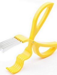aço inoxidável tesouras de corte de banana