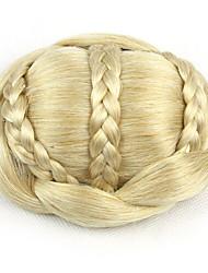 mariée crépus or bouclés europe cheveux humains capless perruques chignons sp-189 1003