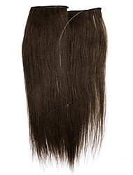 "NEW 16""-24""Invisible halo 100% Remy Hair Extension Wire Remy Extension one piece"