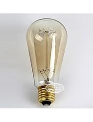 E27 AC220-240V 40W Incandescent Light Bulbs Lighting Antique Edison Halogen Bulbs