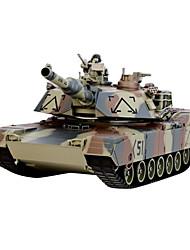 modelo de control remoto inalámbrico de tanques militares de control puede cargar la batería del coche juego juguete de los niños