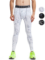 Vansydical® Men's Running Pants/Trousers/Overtrousers Tights Leggings Bottoms Breathable Quick Dry Spring Summer Fall/AutumnExercise &
