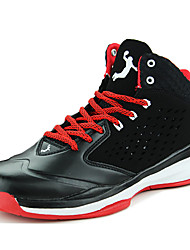 Men's Shoes Athletic PU Fashion Sneakers Green / Red / Orange
