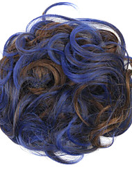 Wig Blue 5CM High-Temperature Wire Color Hair Ring Colour 2/30-T3952