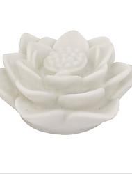 LED Color Changing Night Light White Lotus Flower Lamp