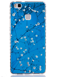 For Huawei Case Pattern Case Back Cover Case Tree Soft TPU Huawei