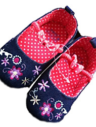 Girl's Flats Spring / Fall Comfort / Round Toe Denim Outdoor Blue