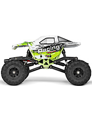 Rock Climbing Car WLToys 4WD 1:24 Brush Electric RC Car 2.4G Green Ready-To-GoRemote Control Car / Remote Controller/Transmitter /