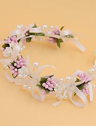 Women's / Flower Girl's Pearl / Fabric Headpiece-Wedding / Special Occasion / Casual / Outdoor Headbands 1 Piece