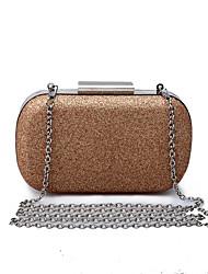 L.WEST Women's The Glitter Evening Bag